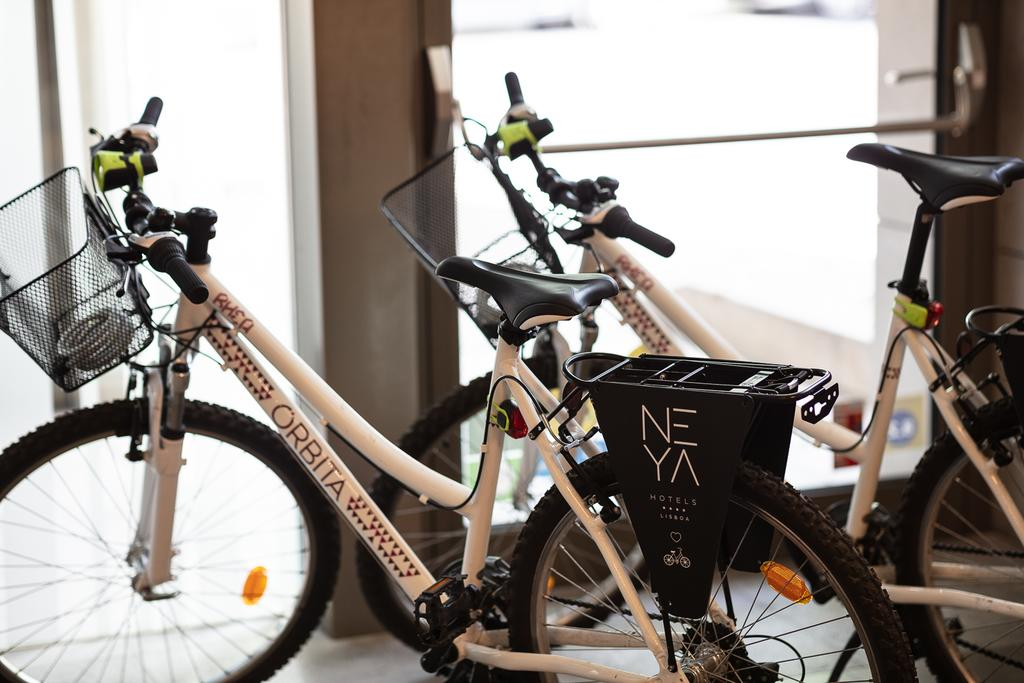 Grab an e-bike and head on into the city!