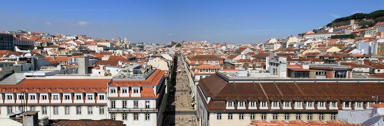 Rua Augusta and downtown Lisbon