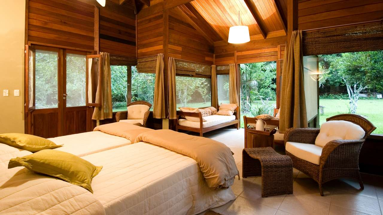 Cristalino Lodge is a 5 Leaf Lodge. Visit  http://cristalinolodge.com.br/en  to book.