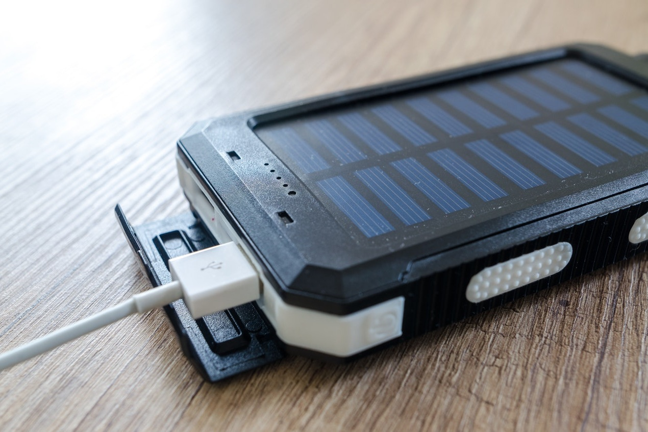 Solar powered chargers are a great option to keep you powered on-the-go