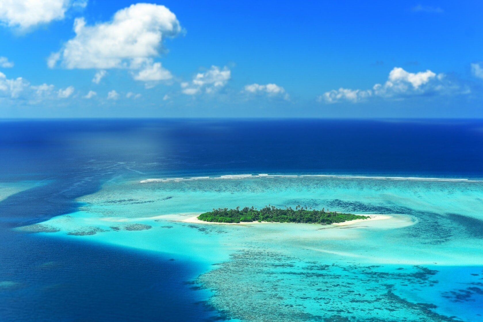 The Maldives is one of the many islands around the world at risk