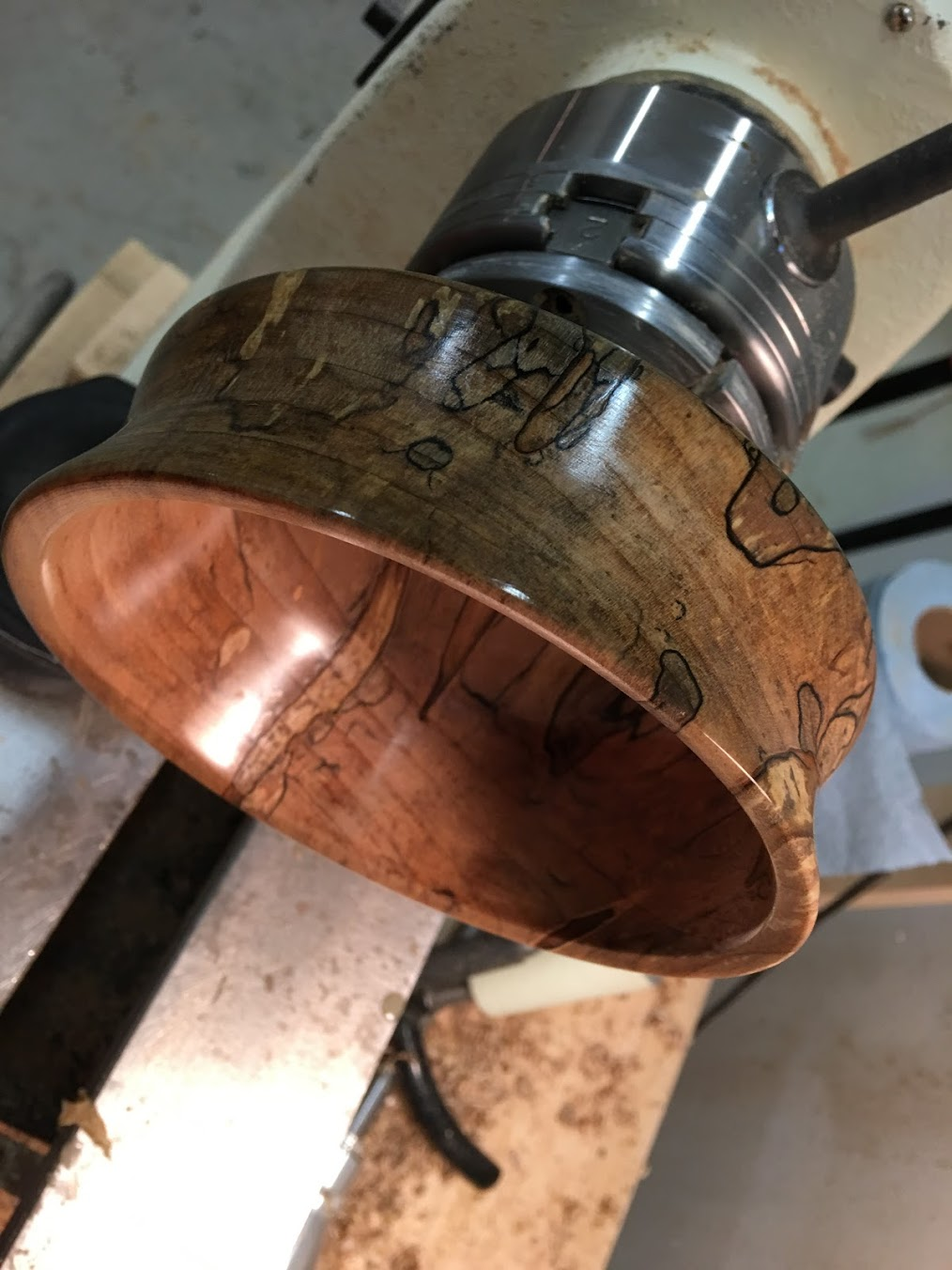 """Conventional """"classic"""" bowls (*this one is spalted maple)"""