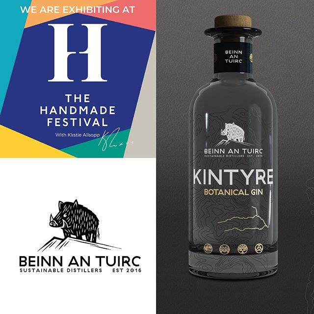 It's all gearing up nicely for this weekend at @thehandmadefestival at Hampton Court Palace. You can find us, alongside some fantastic gin brands from all across the UK at The Gin Village. Not only will you be able to meet the folk behind Kintyre Gin you'll be able to sample their wares, buy bottles to take home and enjoy a long drink at our Gin Village Bar.⠀⠀ ⠀⠀ Watch this space for a Meet the Maker post on @kintyregin and more announcements on the brands joining us next week!⠀⠀ -⠀⠀ -⠀⠀ -⠀⠀ #handmadefestival #kintyregin #gin #scotland