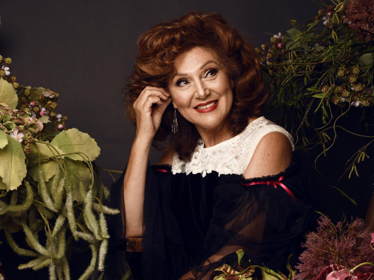 Miriam Gauci - Soprano, in custom Luke Azzopardi