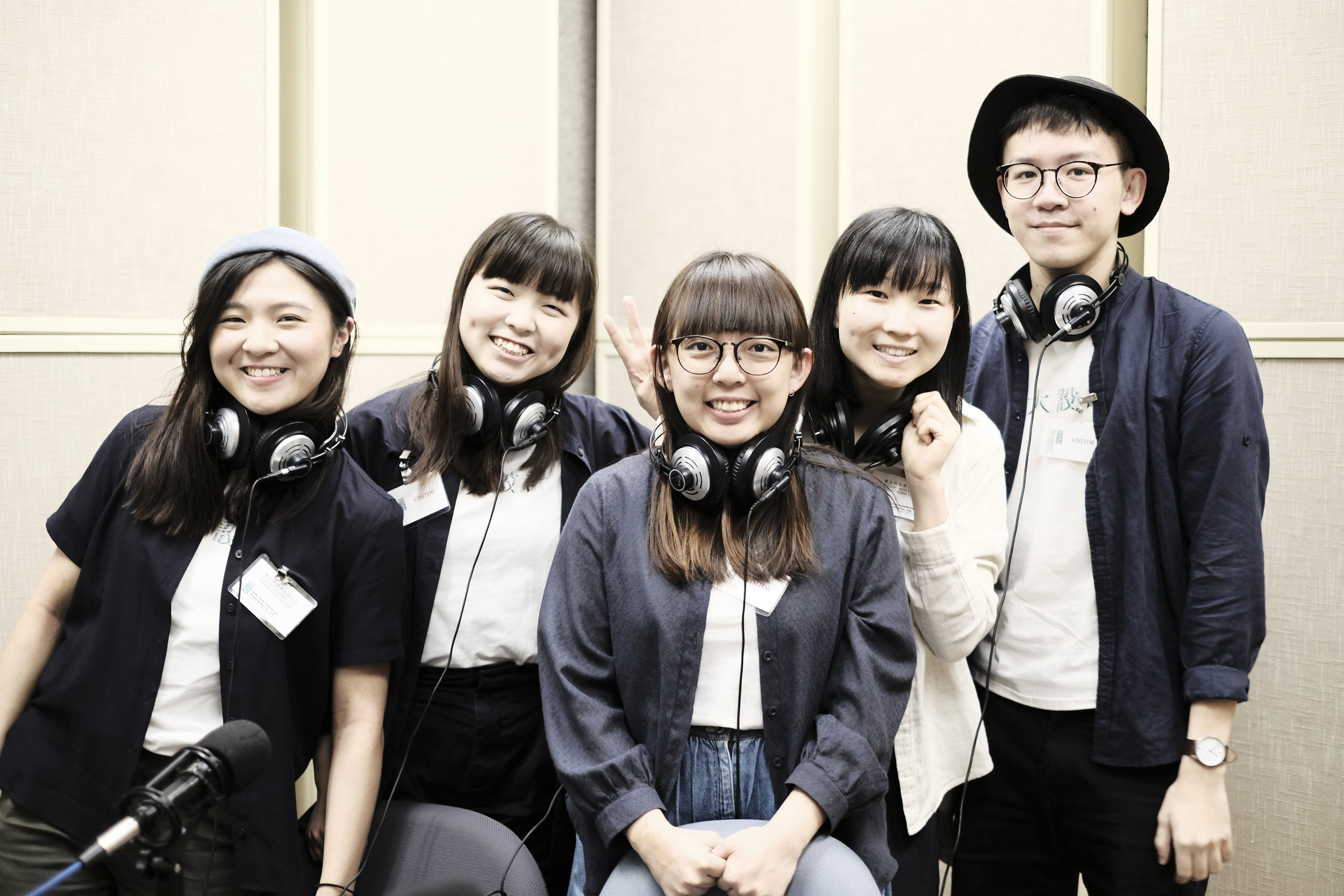 "▴ Our team was honoured to be invited to a radio interview by the programme from 881903 — ""早! Junior"""