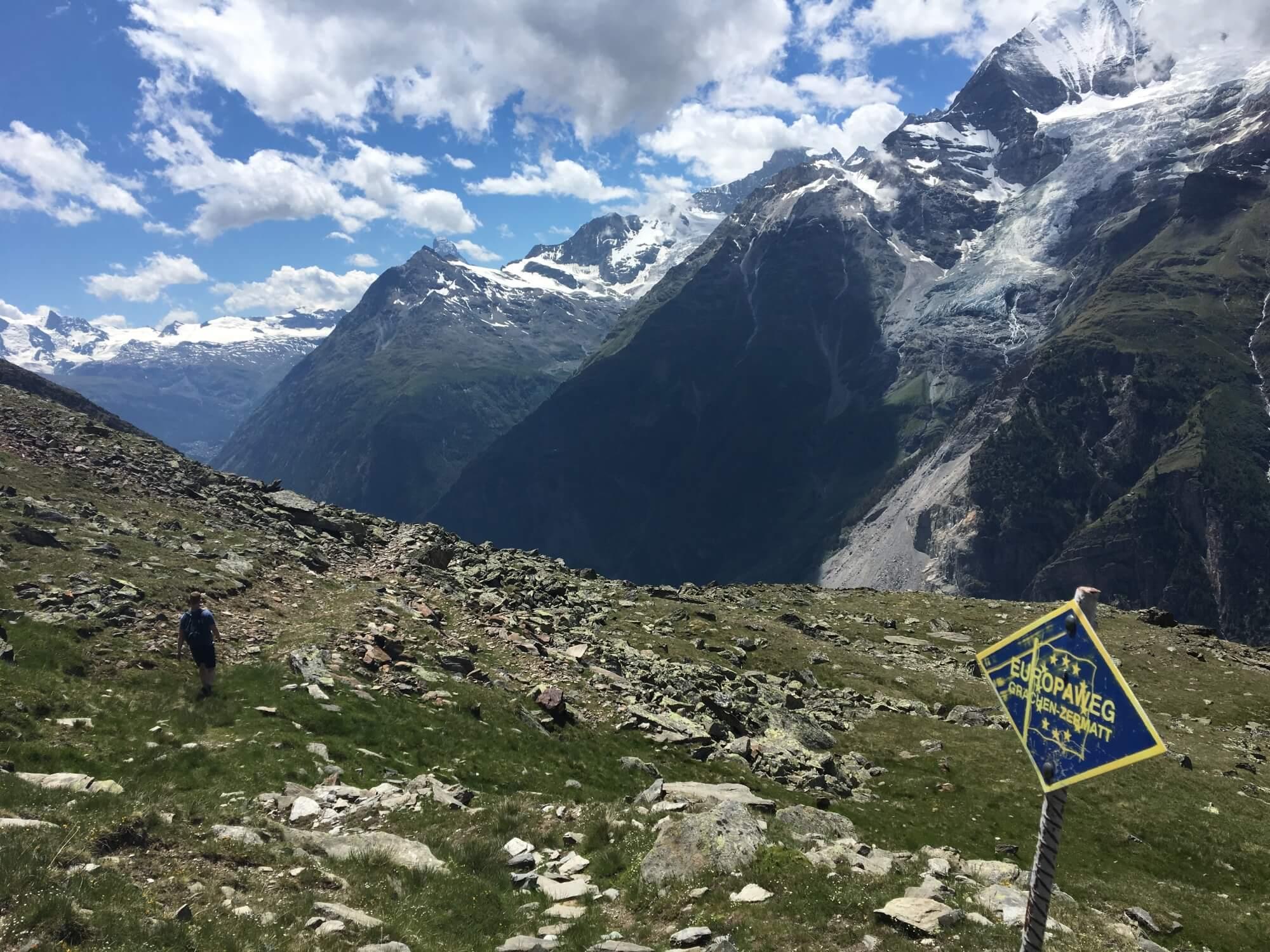 Tour of Monte Rosa - 153 km / 95 mi