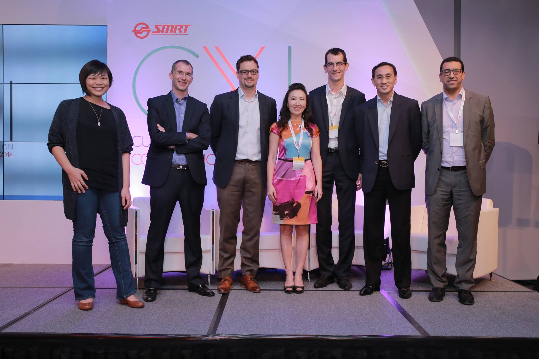 Speakers, experts, thought leaders with SMRT CEO Desmond Kuek