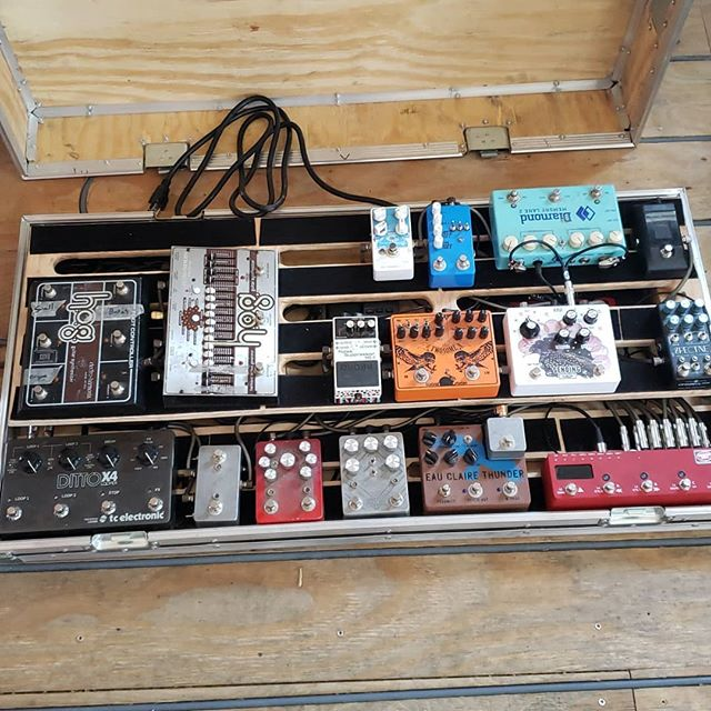 It is ready. Lots of insanely awesome people built stuff on this. @electronicaudioexperiments @dwarfcraft @disasterareadesigns @ehx @tcelectronic @diamondpedals  @mtl.asm @korgofficial @chaseblissaudio @blackouteffectors @earthquakerdev