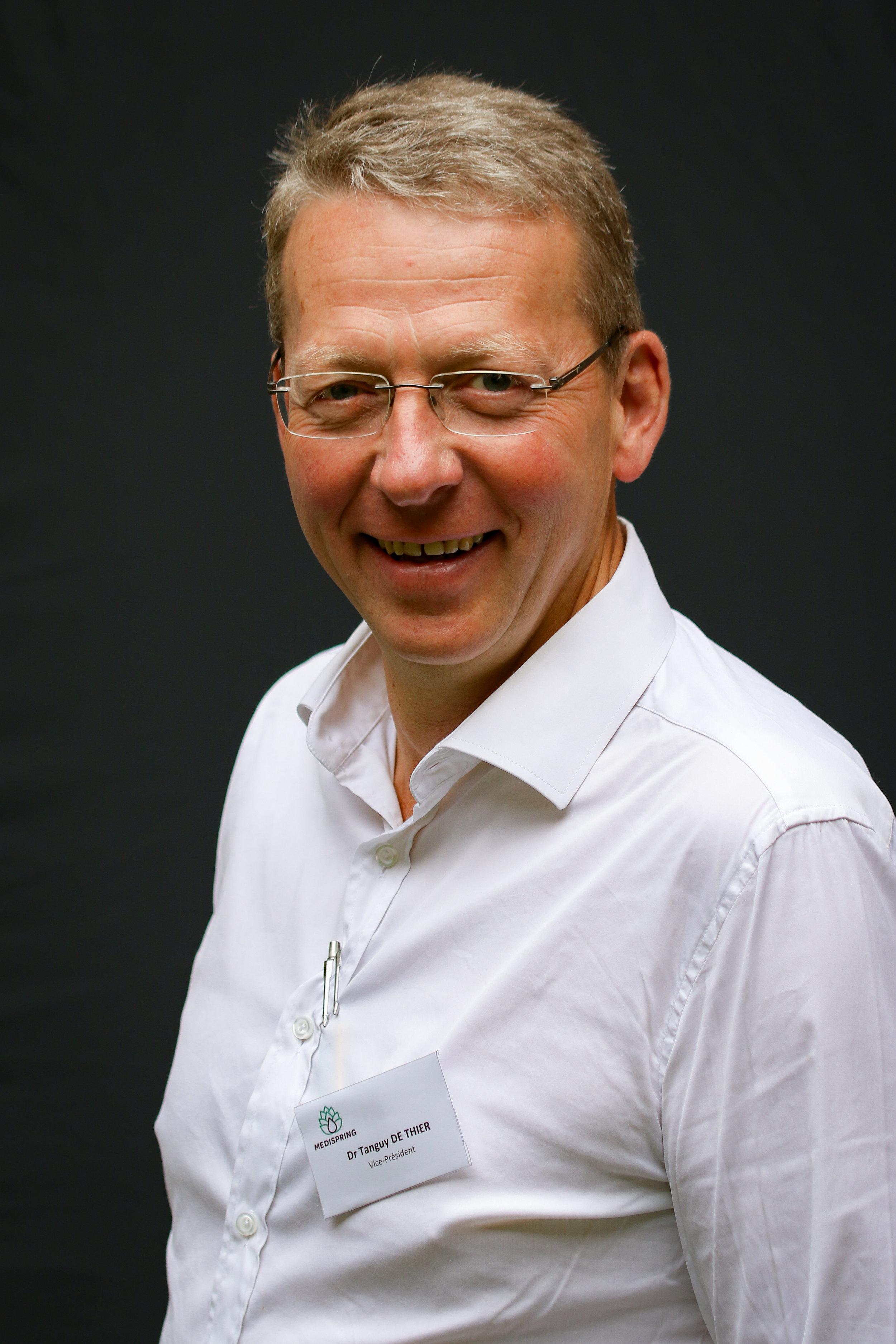 Vice-Président - Dr. Tanguy de Thier