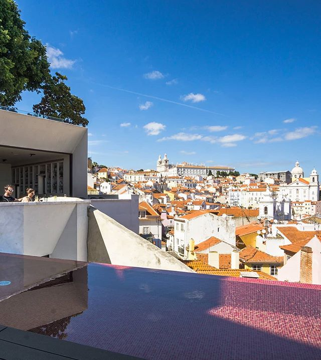 Flavours of Lisbon. . . . . . . . #lisbon #pool #terrace #view #rooftop #rooftoppool #sun #sunny #citybreak #city #hotel #boutiquehotel