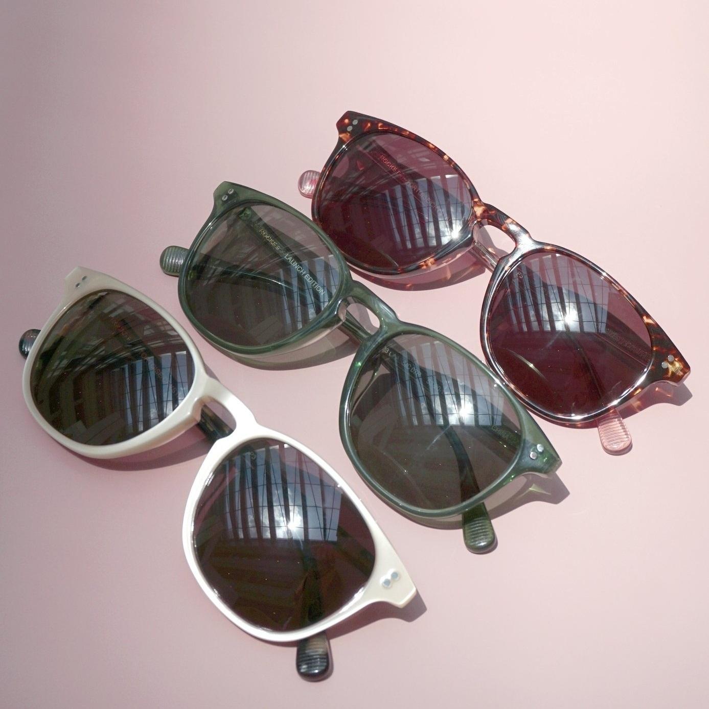Rocket Eyewear - Classic, handmade sunglasses. Featuring polarised P3 lenses. Designed in Singapore.