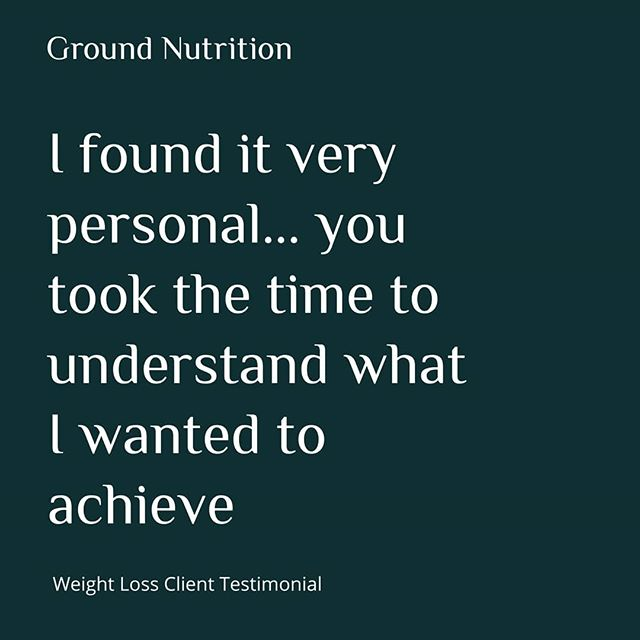 Client Testimonial 🌿 . It is a great feeling to get positive feedback from clients, especially when it is rooted in the personalisation of their time with Ground Nutrition 🌱💪🏻 . . . #GroundNutrition #Feedback #Review #PlantBased #Vegan #Vegetarian #Nutrition #Coach #Food #Training #FatLoss #E17 #London