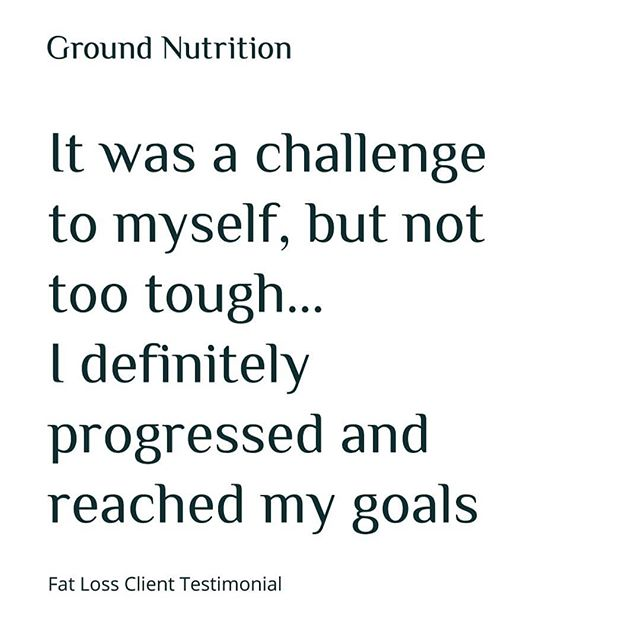 Client Testimonial 🌿💪🏻 . Food, diets and training can sometimes be daunting. Having the help and guidance to build the foundations of a diet, tailored to you and your lifestyle can make challenging goals achievable 🏆 . . . #GroundNutrition #Feedback #Review #PlantBased #Vegan #Vegetarian #Nutrition #Coach #Food #Training #Fitness #FatLoss #E17 #London