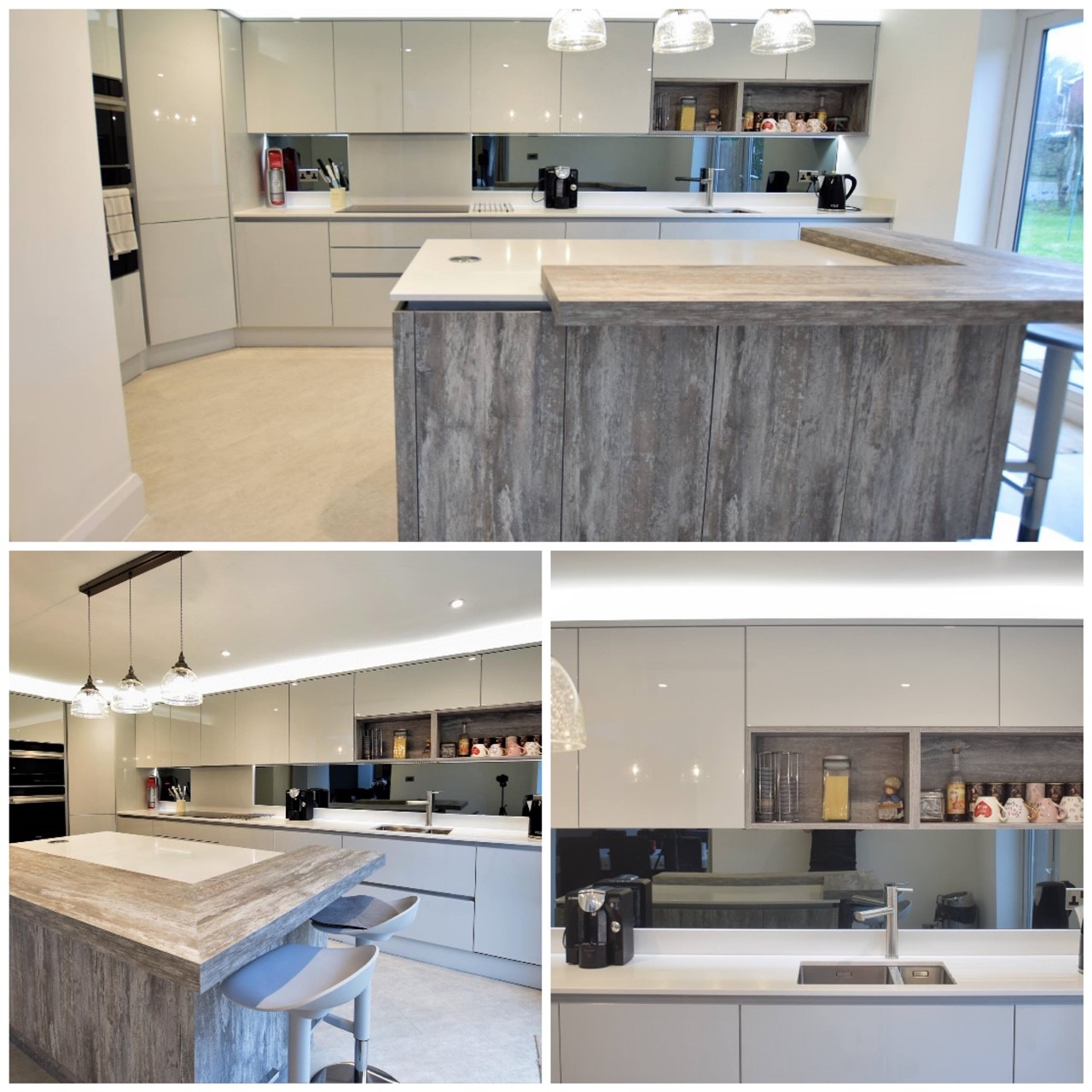 Ashcroft - H-Line Gloss Light Grey & Tundra Stone