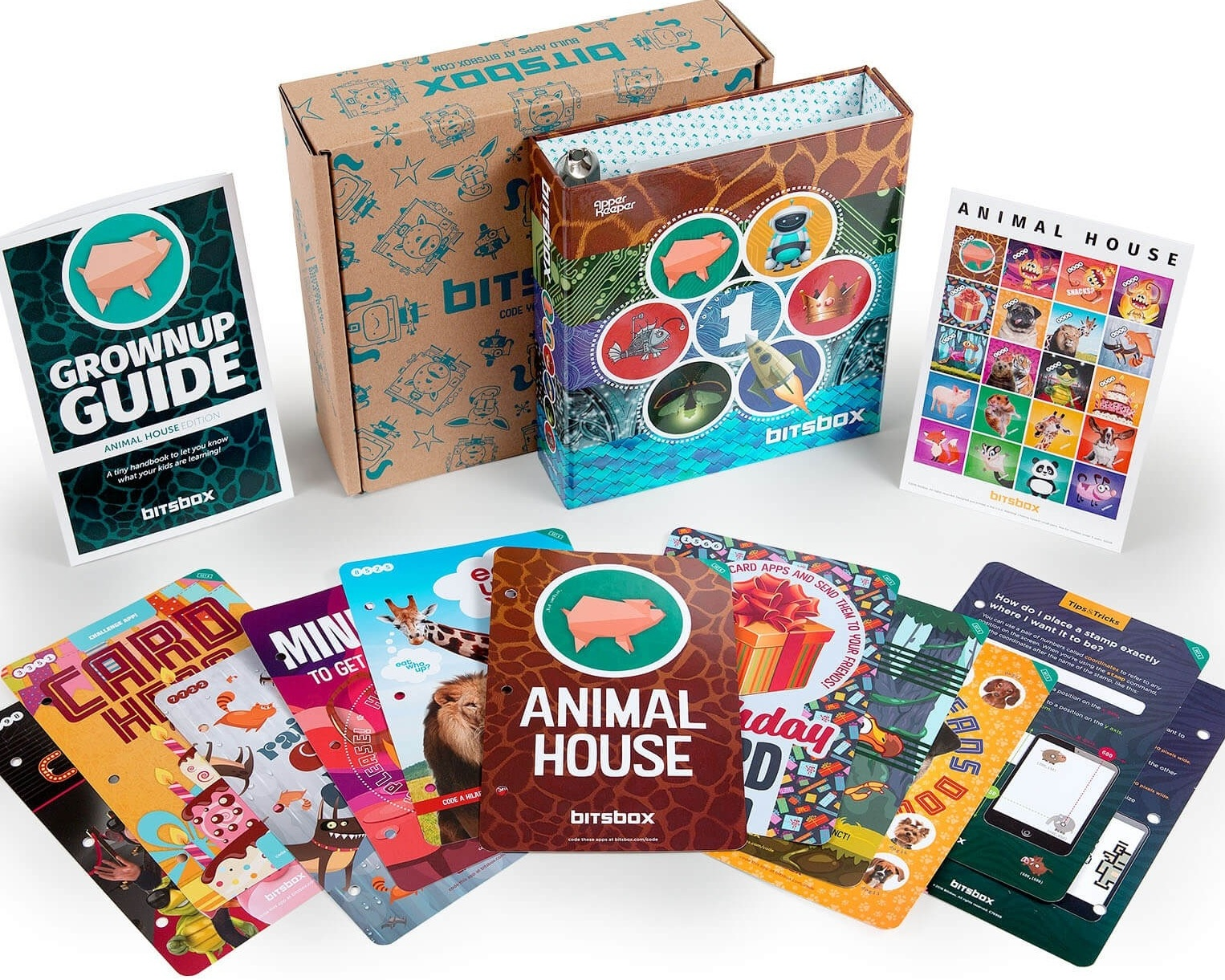 Bitsbox - Bitsbox uses fun, colorful kits to get kids excited about learning to code. They donated kits to our kids so they can learn about coding logic and eventually be competitive in a global market.
