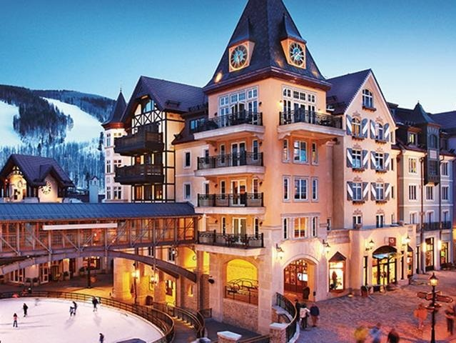 Stay at Arrabelle Resort in Vail -