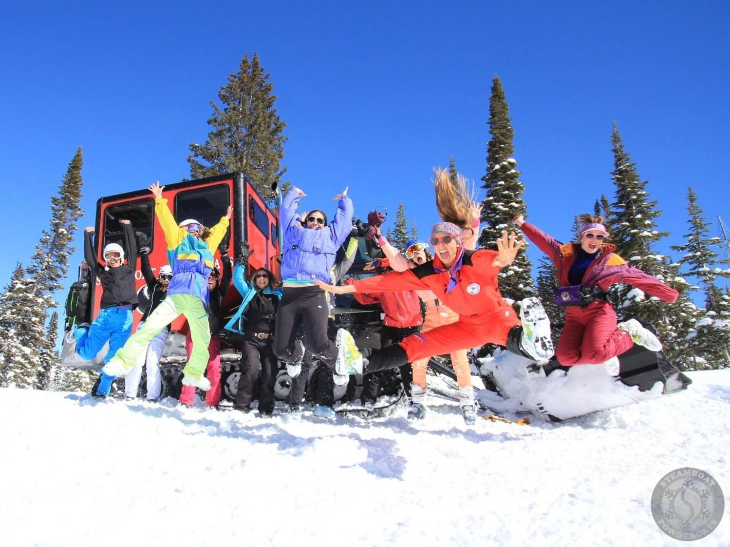 Ski Powdercat Seats -