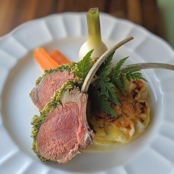 Marcona-Almond-and-Mint-Pesto-Crusted-Lamb-Racks-with-Potato-Leek-Gratin-Garden-Carrots-and-Spring-Onion.jpg