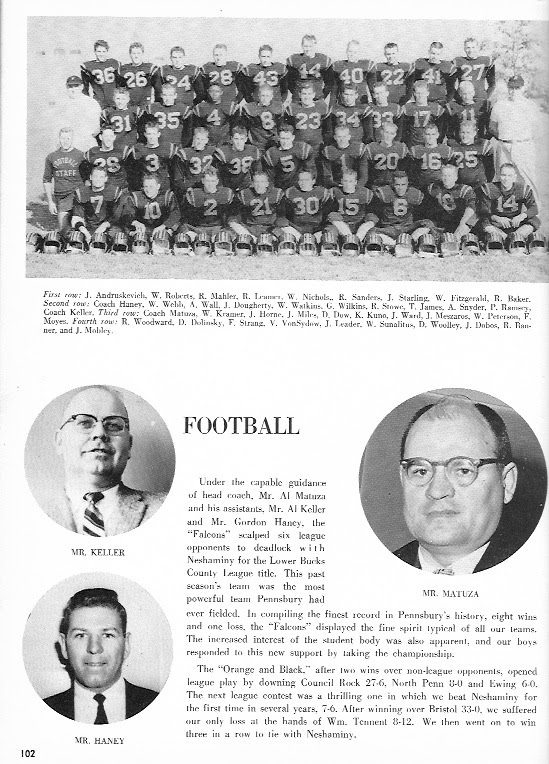 1957-58 Yearbook Team and Coaches