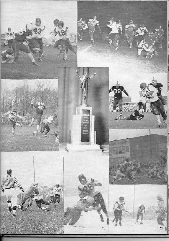 1957-58 Yearbook Photos and Championship Trophy