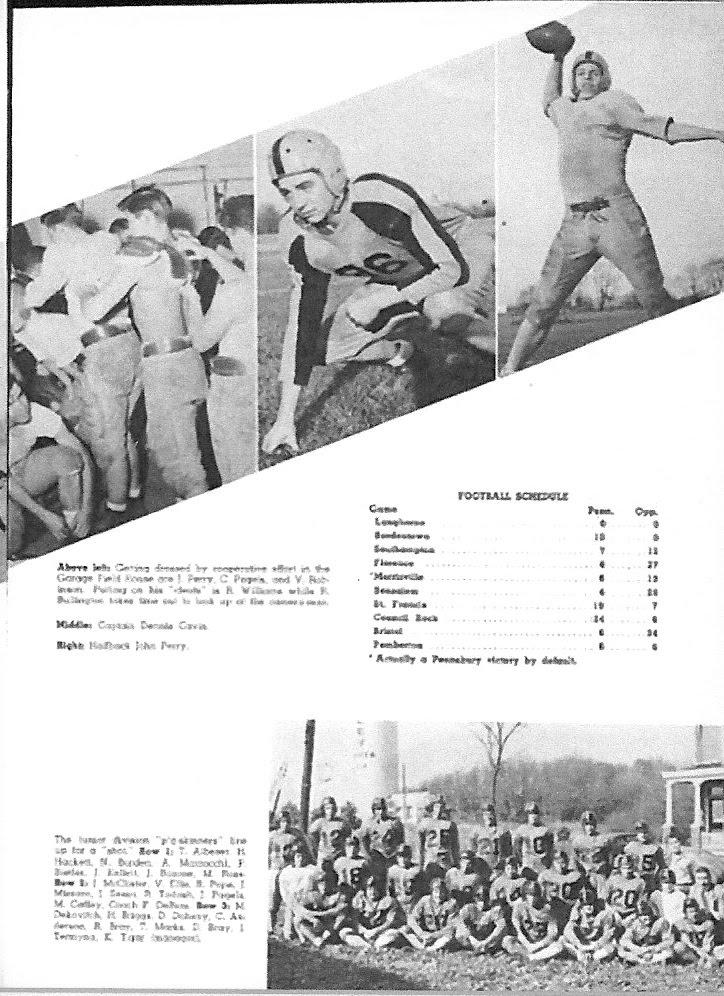 1949 Season - 1950 Yearbook