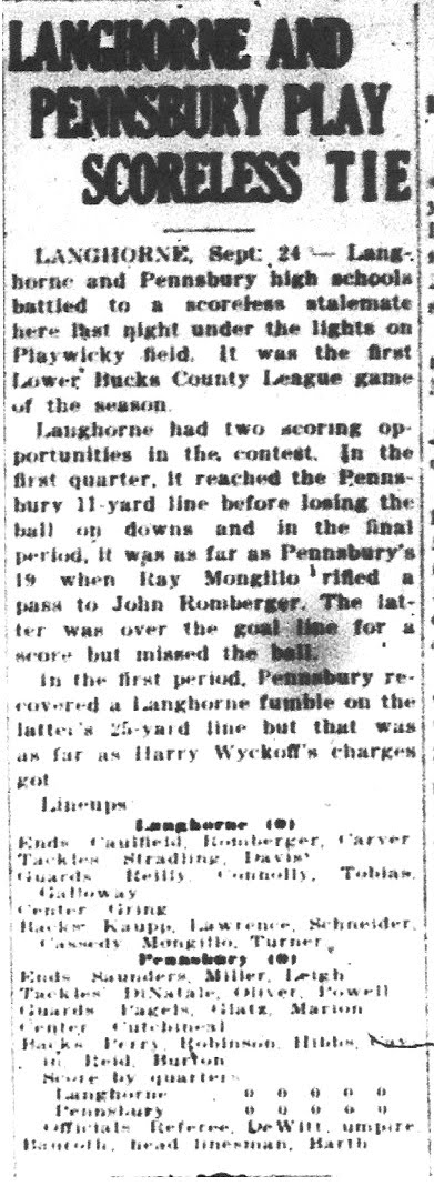 9-24-49 Courier Article