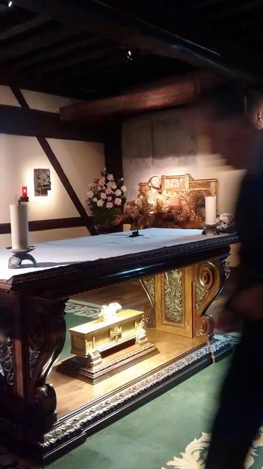 chapel of conversion of St Ignatius [his bedroom]. Loyola, Spain
