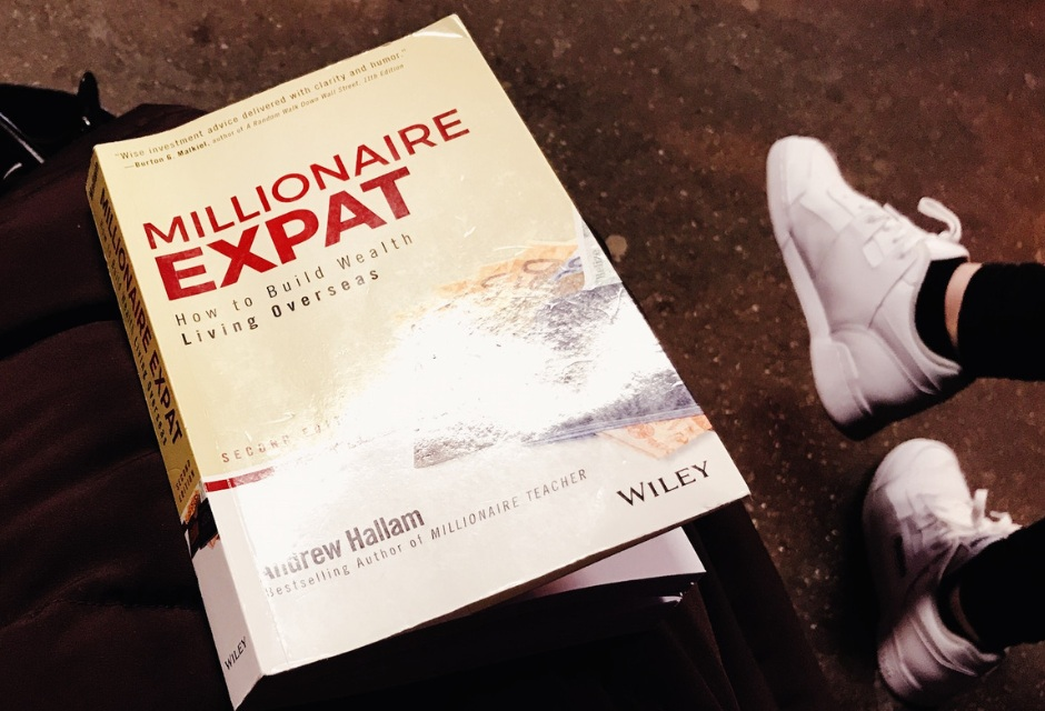 Learn to invest with Millionaire Expat: How To Build Wealth Living Overseas by Andrew Hallam