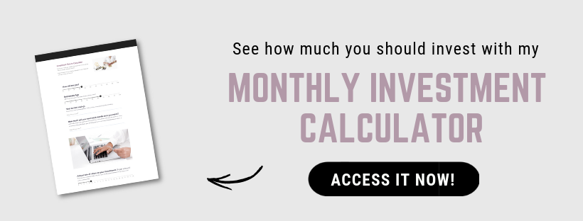 How much money do you need to start investing - access the monthly investment calculator