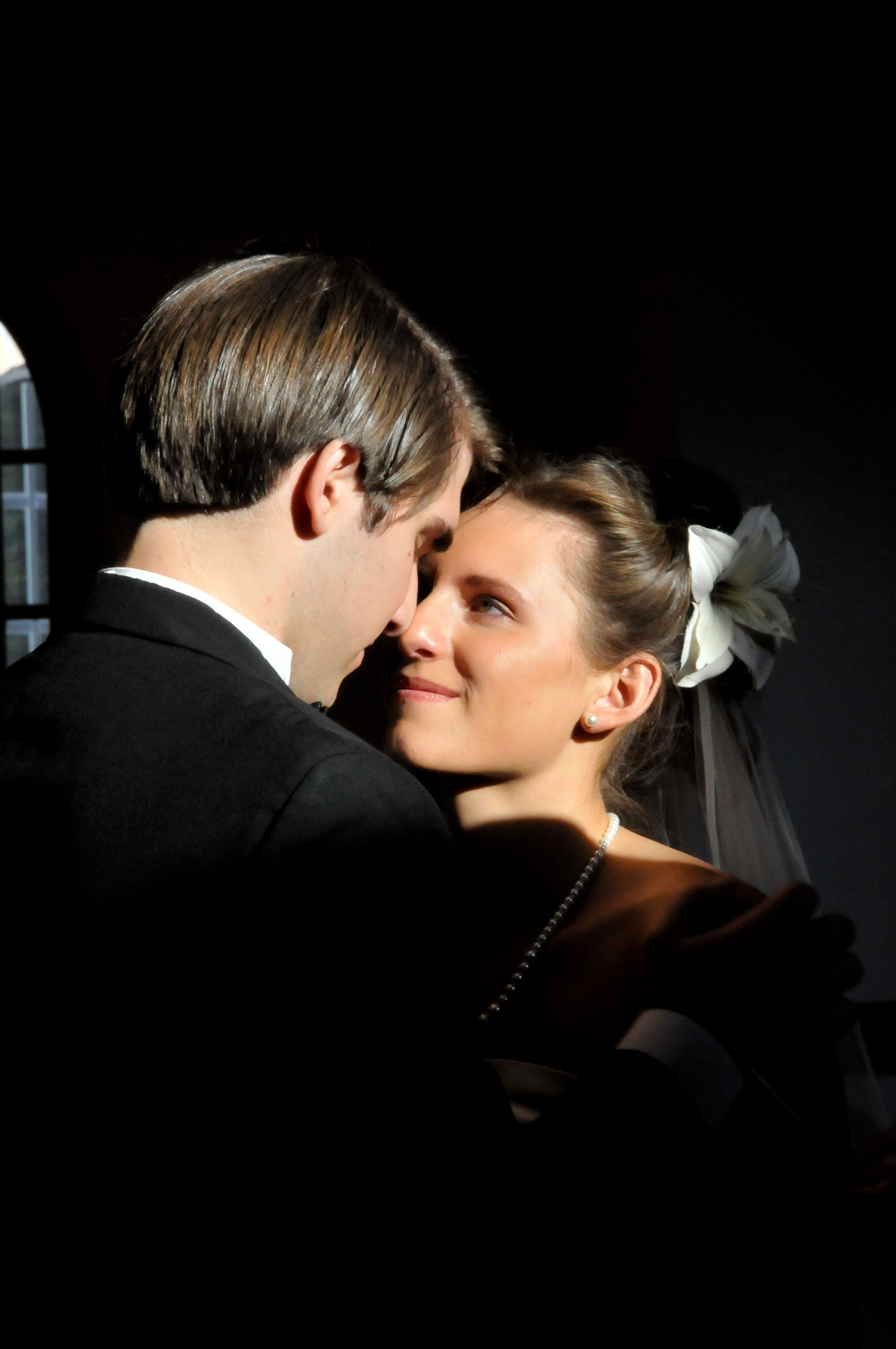 Love at the chapel. - Wedding in Wilmington, NC