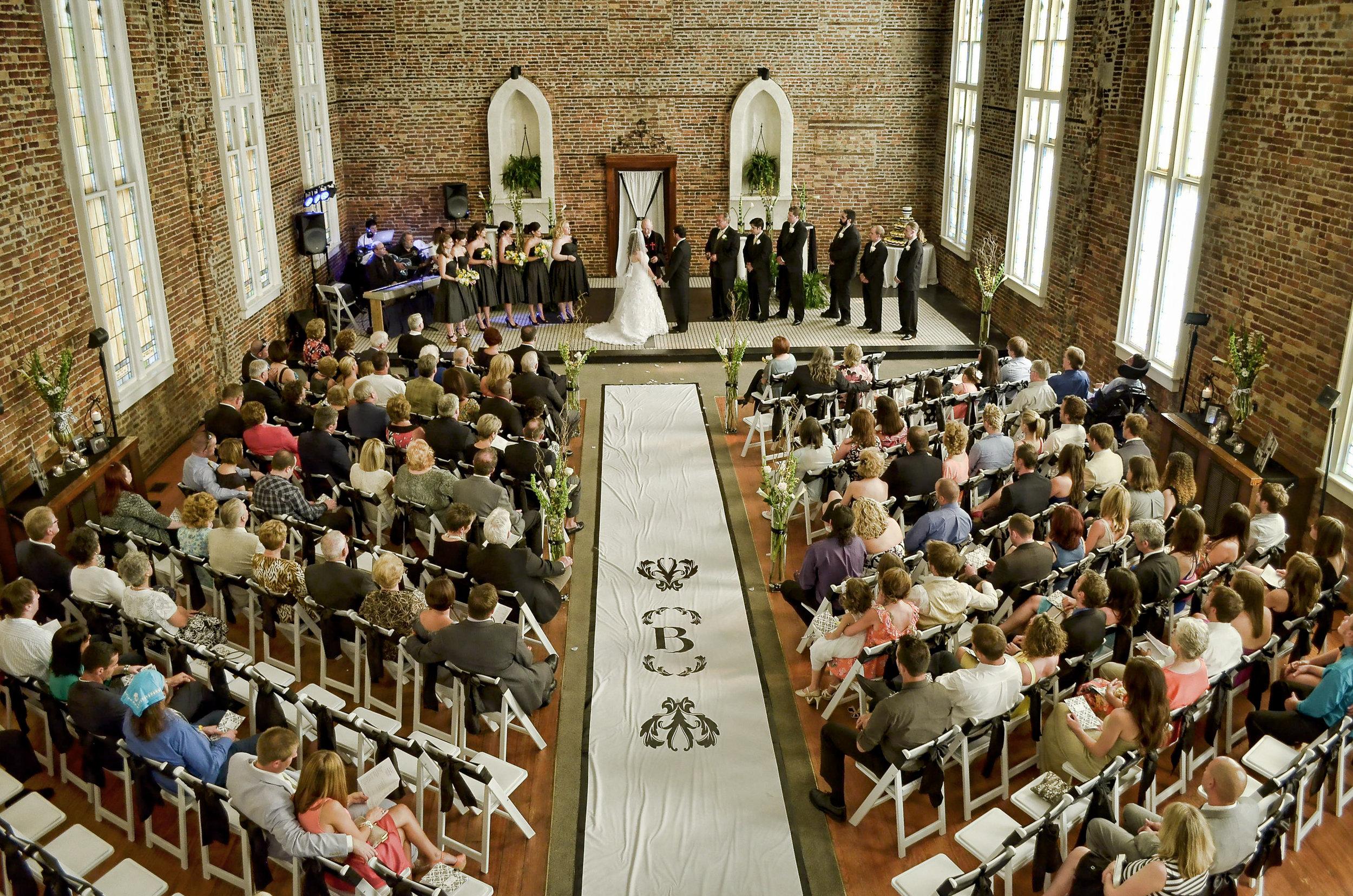 Wedding Ceremony - St. Thomas Preservation Hall.