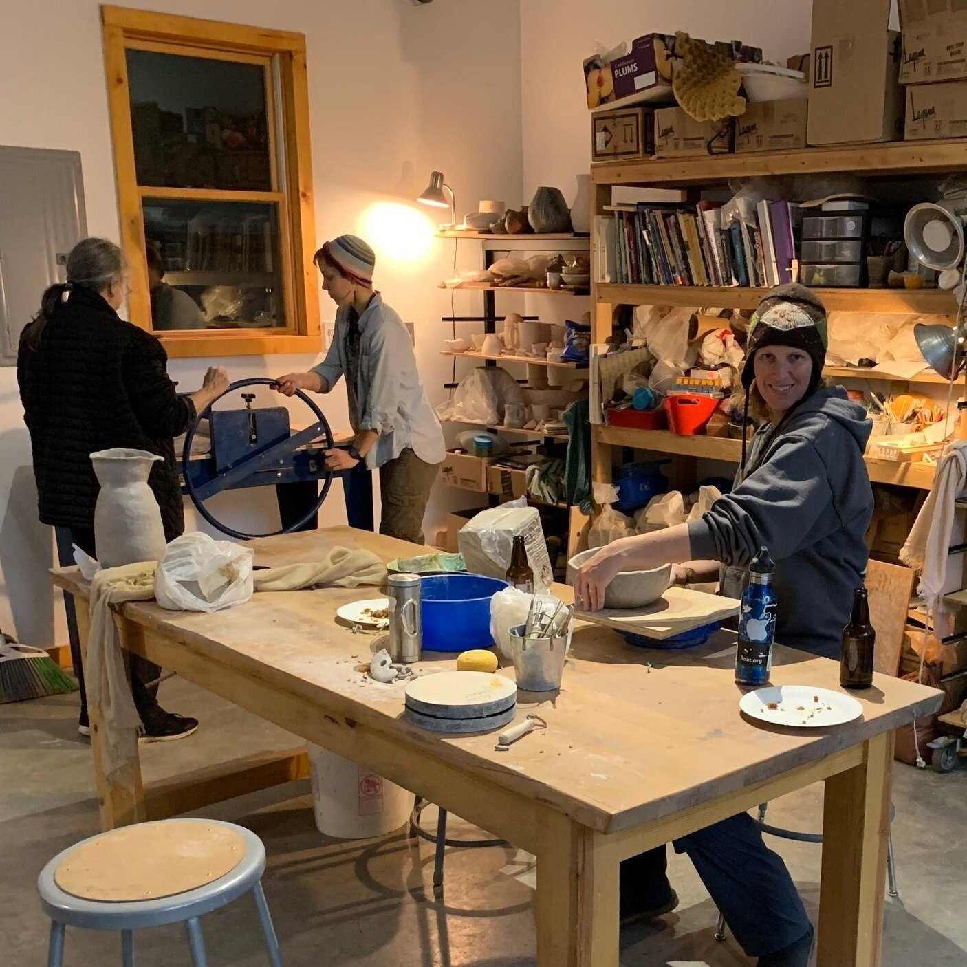 Open Studio - Tuesdays & Fridays 1-5PMIf you are already and intermediate or advanced student and just want to use the studio space we now offer open studio hours.$100/Monthly Membership (does not include Wednesday class)