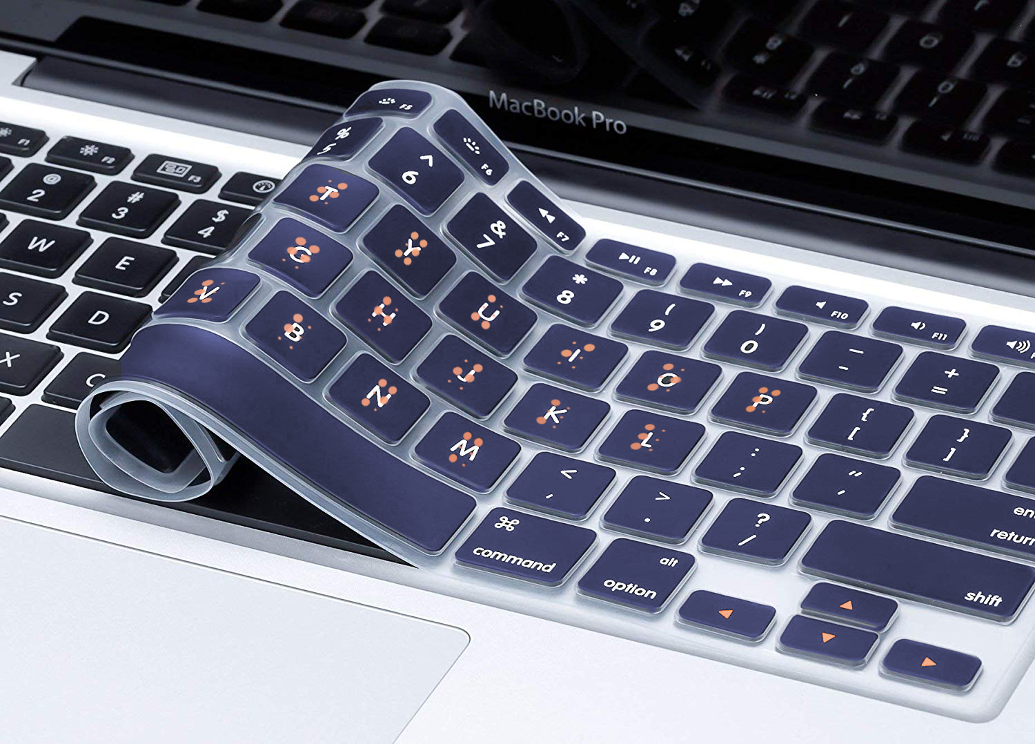 A keyboard overlay will help those that know or are learning Braille to more conveniently access technology.