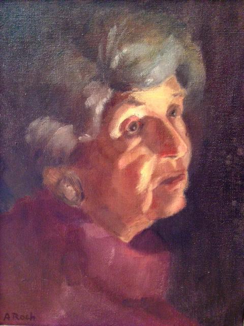 Mamie, Oil, 11 x 9''