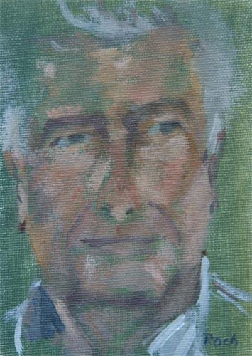 Bruce, Oil, 7 x 5''