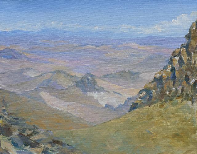 Rocky Outcrops, Oil, 10 x 12''