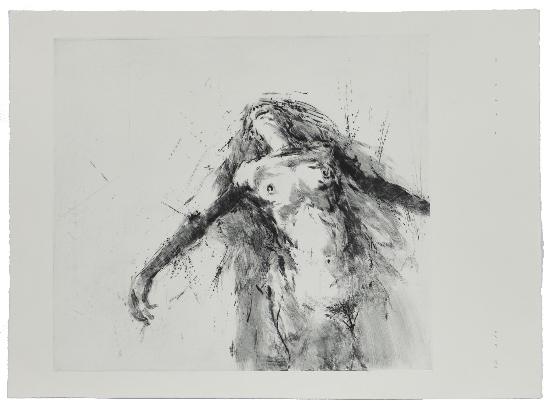 Floating IX    2006 | 78 x 57 cm | Dry point | 10 prints