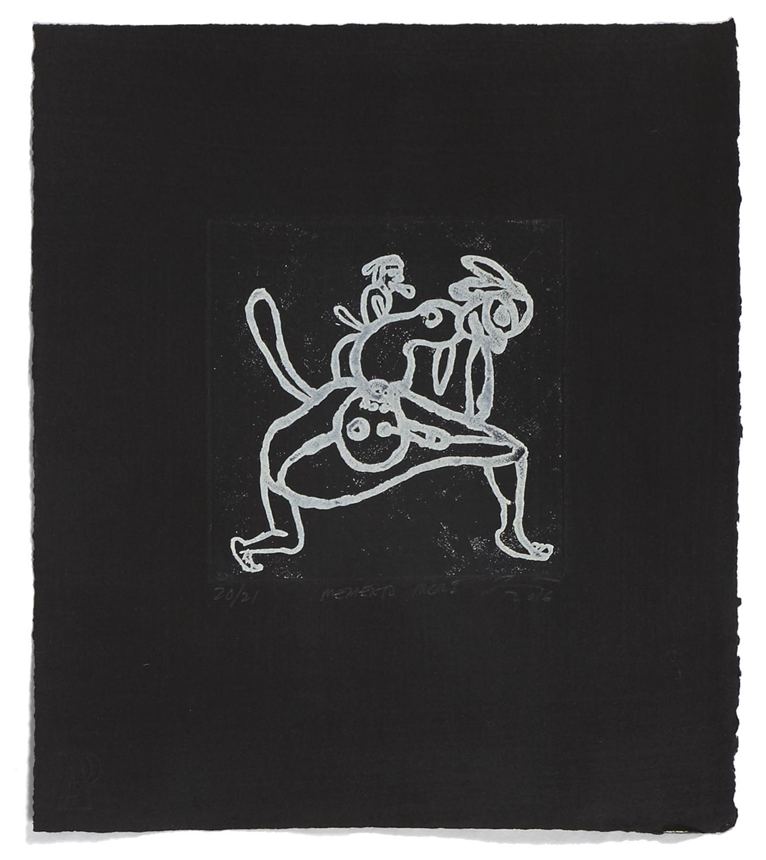 Memento Mori    2016 | 32 x 26 cm | Eau-forte and aquatint | 21 prints | Éditeur Atelier-Galerie A. Piroir
