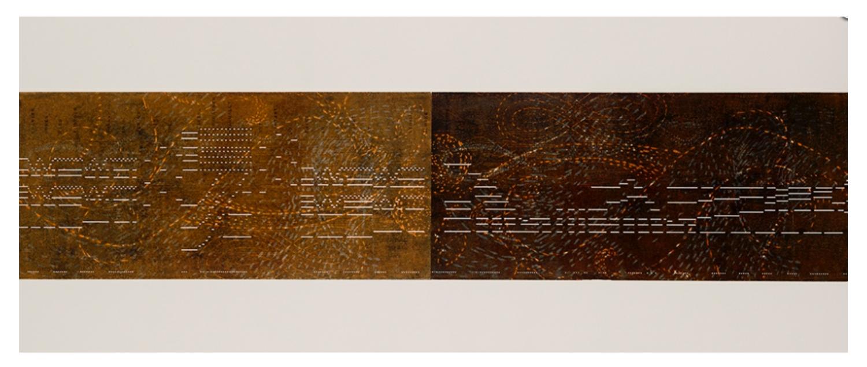 Binary / Wilhelm Tell     2012 |  53 x 127 cm | Monotype