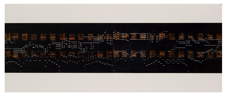 Binary / I Ching     2012 |  53 x 127 cm | Monotype