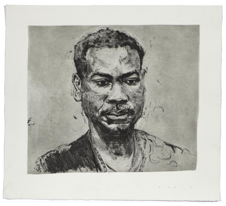 Jean-Paul    2016 | 54 x 60 cm | Dry point