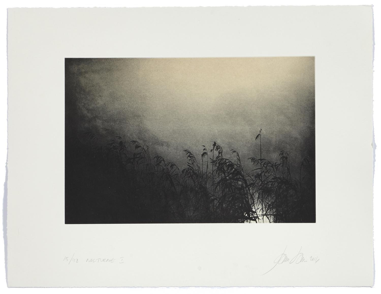 Nocturne I    2016 | 50 x 65 cm | rotogravure et aquatint | 48 prints