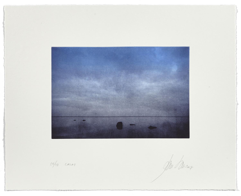 Calm    2017 | 40 x 50 cm | rotogravure et aquatint | 48 prints