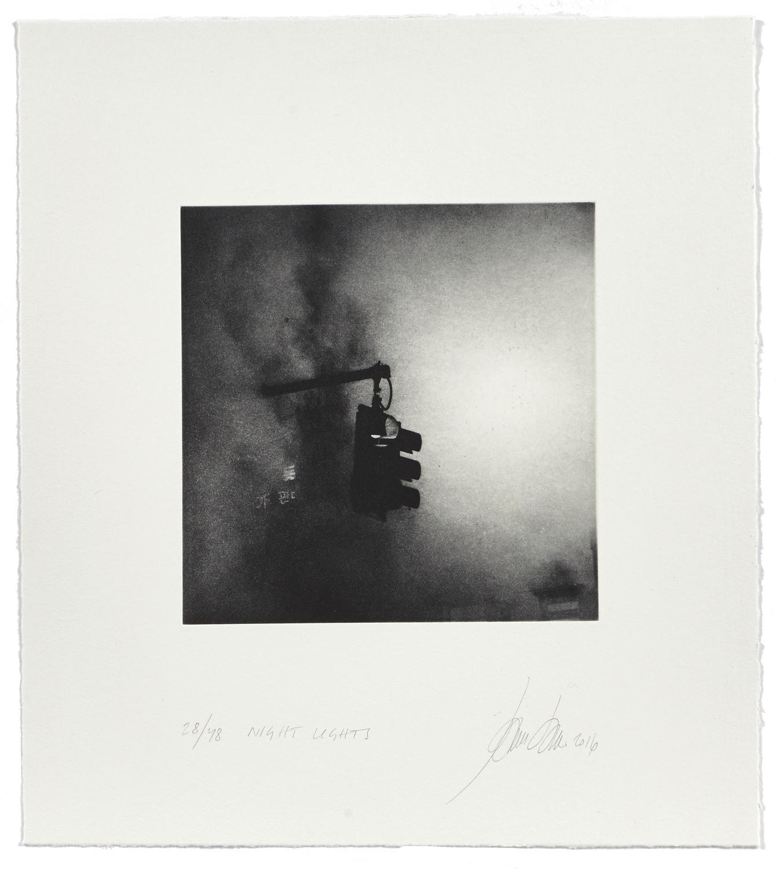 Night Light    2016 | 45 x 40 cm | rotogravure et aquatint | 48 prints
