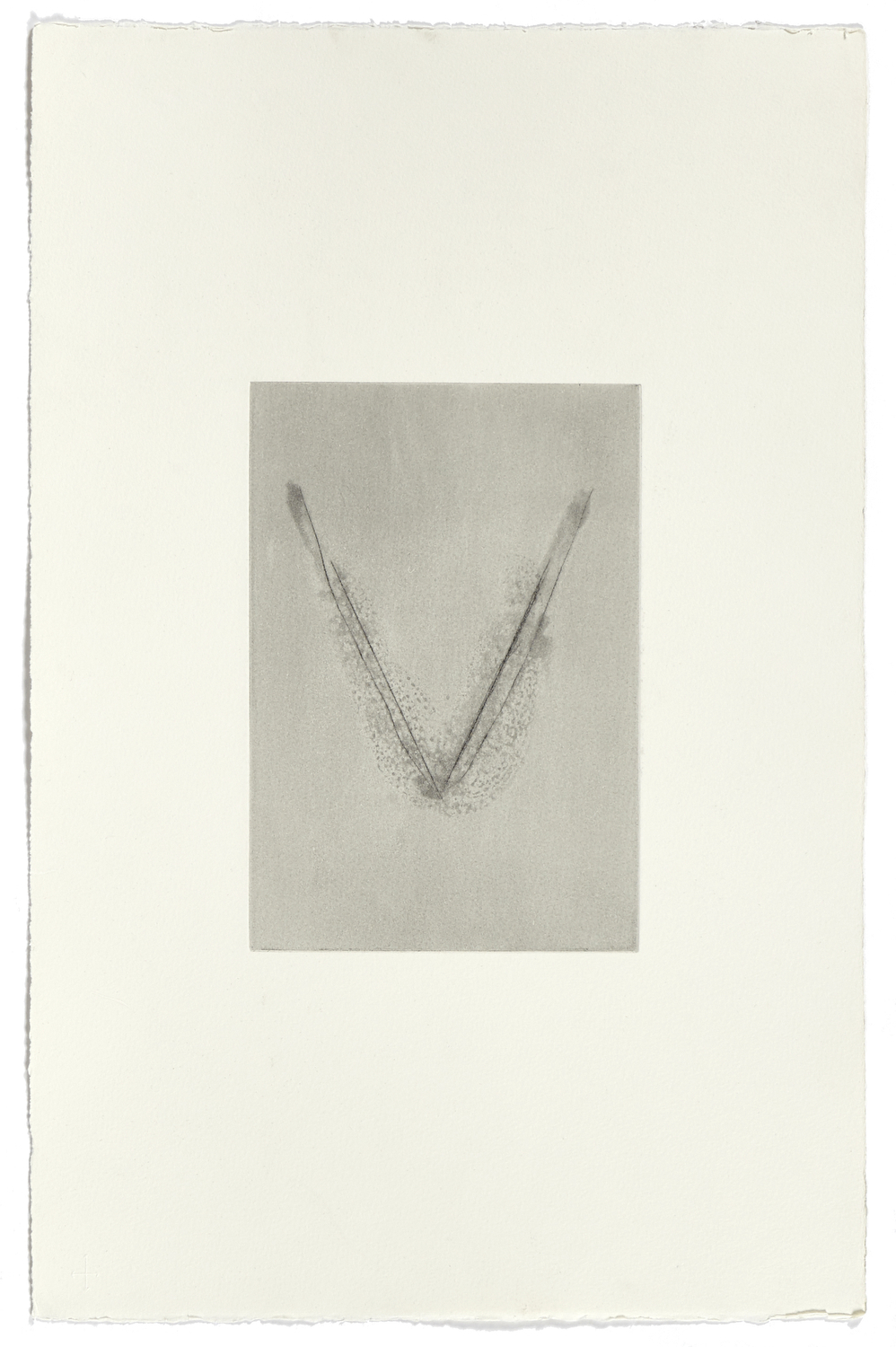 Untitled    2006 | 57 x 38 cm | Eau-forte and dry point | 1 print