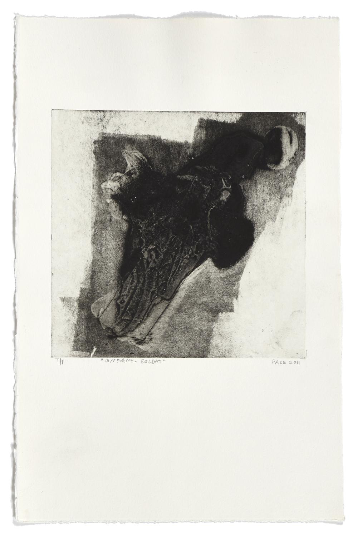 Enfant-soldat    2011 | 45 x 29 cm | Monotype