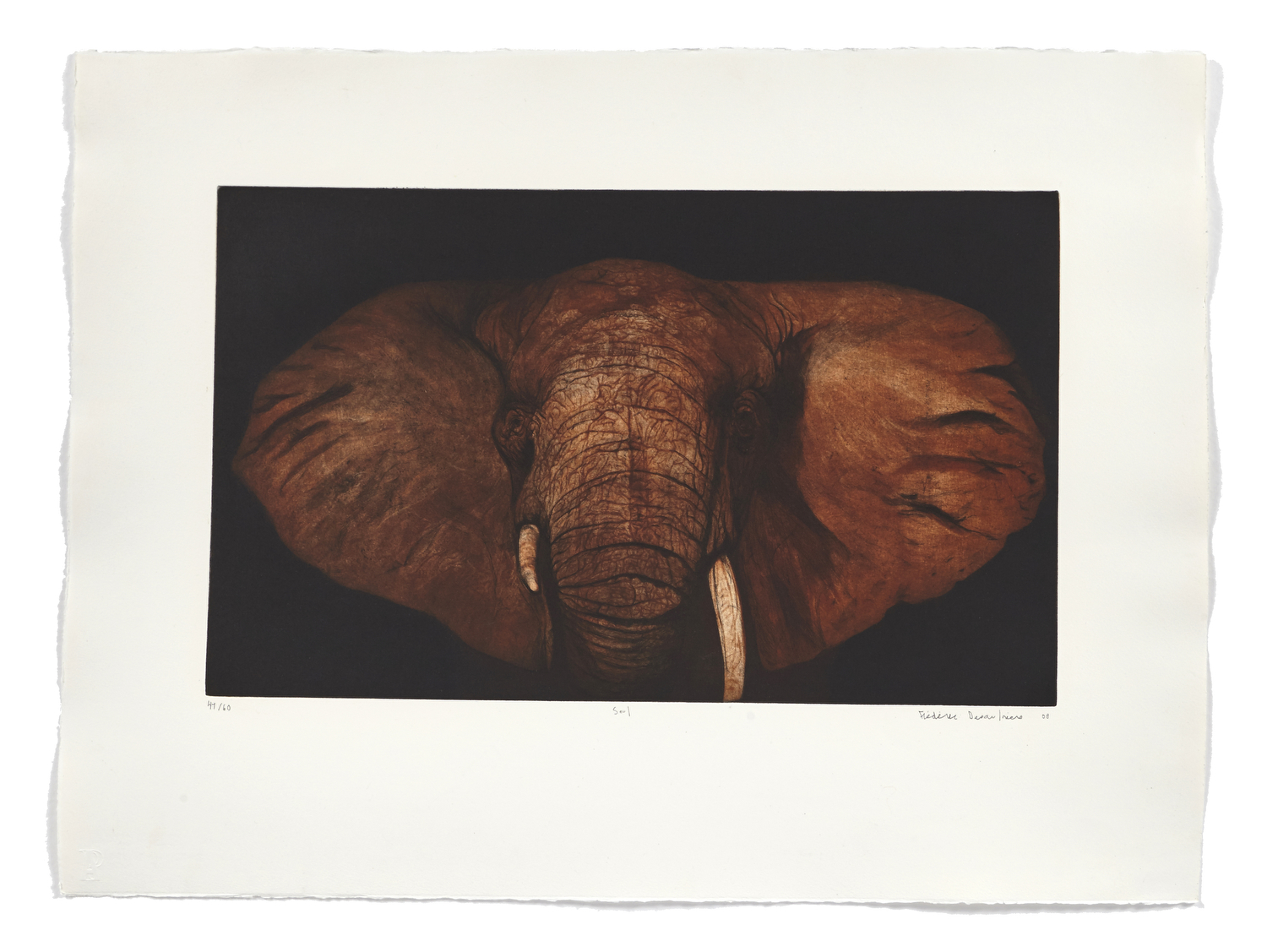 Seul   2007 | 56 x 76cm | Aquatint, etching and drypoint | 60 prints | Editor Atelier-Galerie A. Piroir