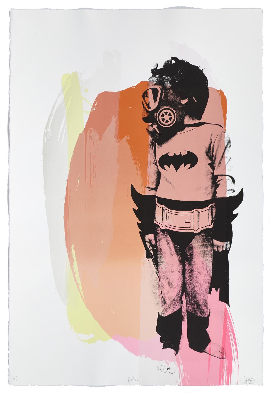 Batman    2015 | 113 x 77 cm | Serigraphy | 3 prints