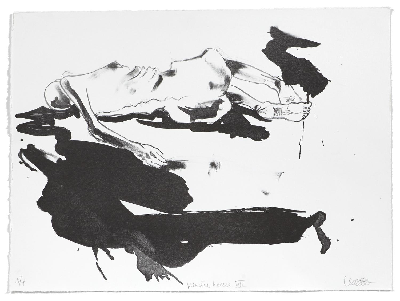 Première heure VII    2006 | 38 x 51 cm | Lithography | 4 prints