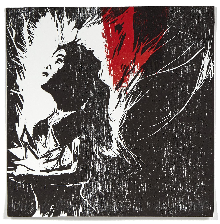 Va où tu vas    2013 | 16 x 15 cm | Serigraphy et woodcut | 20 prints